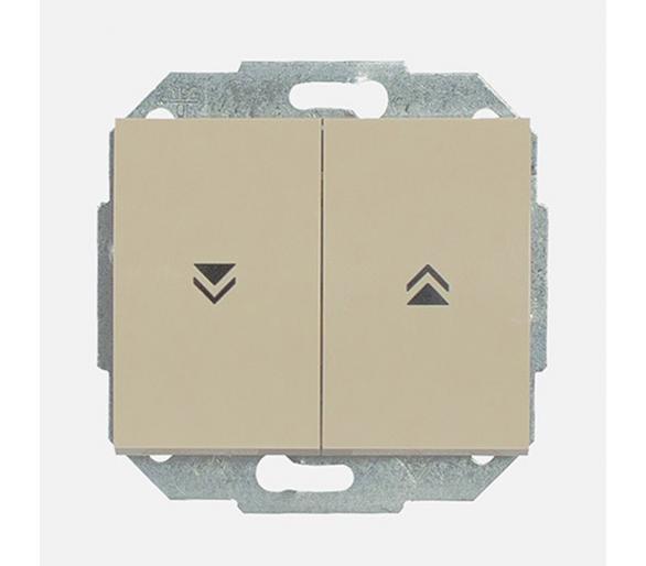 Wyłącznik żaluzjowy, zwierny p/t 10A, 250V WP-10N beżowy