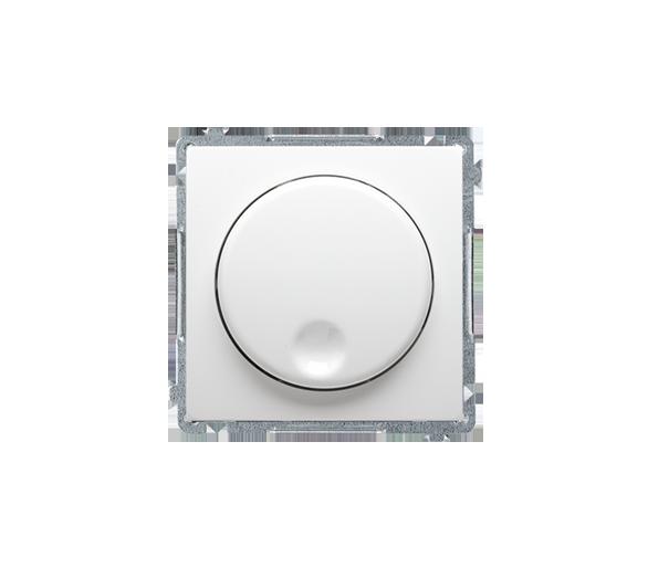 Ściemniacz naciskowo-obrotowy biały
