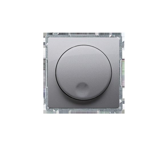 Ściemniacz naciskowo-obrotowy inox, metalizowany BMS9T.01/21