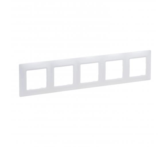 Ramka Pięciokrotna - Biały - Niloe Selection 762005