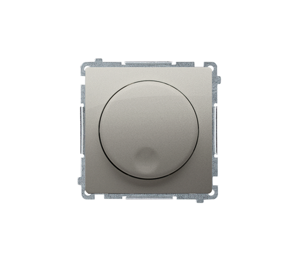 Regulator 1–10 V satynowy, metalizowany 6A BMS9V.01/29