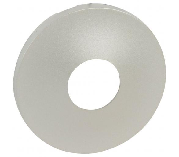 Plakietka łącznika bezdotykowego z zaciskiem neutralnym – 1000 W tytanowa - CELIANE 068349