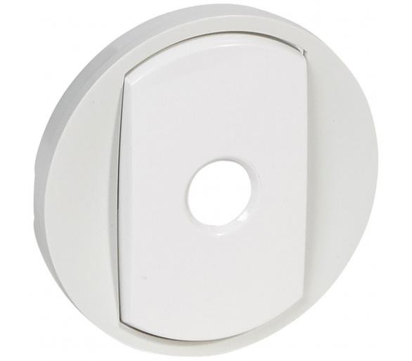 Klawisz pojedynczy łącznika uniwersalnego z automatycznym wyłączeniem - Biały CELIANE 068012