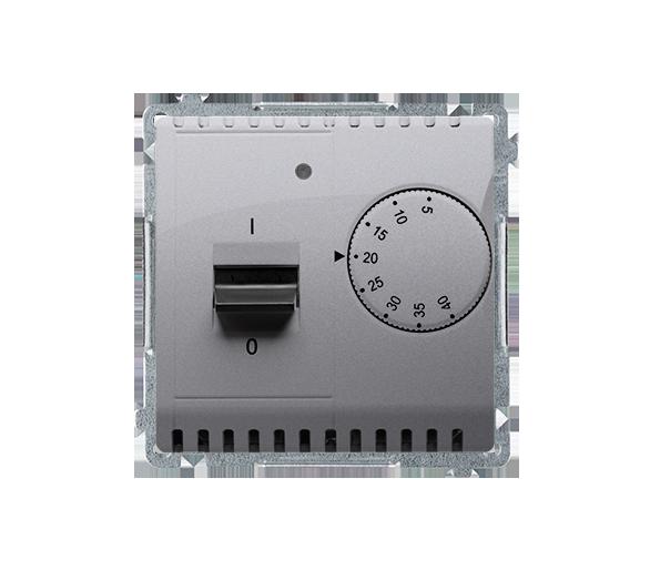 Regulator temperatury z czujnikiem zewnętrznym inox, metalizowany BMRT10Z.02/21