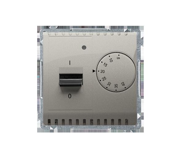 Regulator temperatury z czujnikiem zewnętrznym satynowy, metalizowany BMRT10Z.02/29