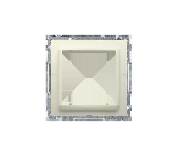 Adapter przejściówka na osprzęt standardu 45×45 mm beżowy BMA45M/12
