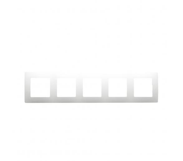 Ramka Pięciokrotna - Biała - Niloe 665005