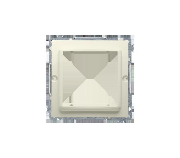 Adapter przejściówka na osprzęt standardu 45×45 mm beżowy