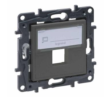 Adapter do złączy pojedynczych typu Keystone - Stalowy - Niloe Step 863487