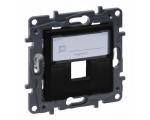 Adapter do złączy pojedynczych typu Keystone - Czarny - Niloe Step 863587