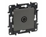 Gniazdo TV męskie przelotowe 14 dB - Stalowe -  Niloe Step 863472