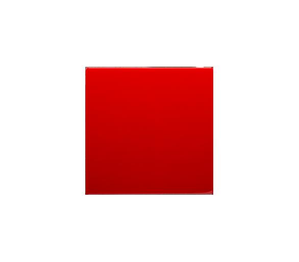 Klawisz pojedynczy do łączników i przycisków czerwony BMKW1/22