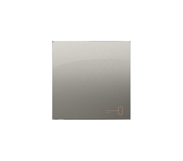 Klawisz pojedynczy do łączników i przycisków satynowy, metalizowany BMKWK1/29