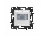 Łącznik automatyczny 2 - przewodowy, bez przewodu neutralnego IP44 - Biały -  Niloe Step 863150