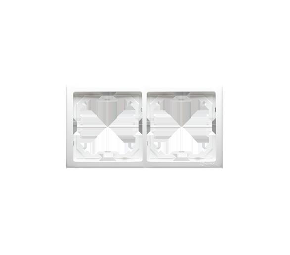 Ramka 2- krotna biały BMR2/11