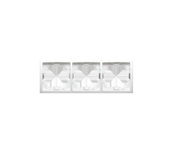 Ramka 3- krotna biały BMR3/11