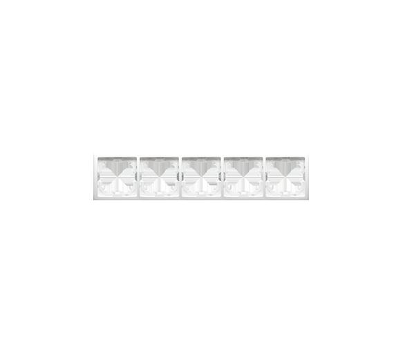 Ramka 5- krotna biały BMR5/11