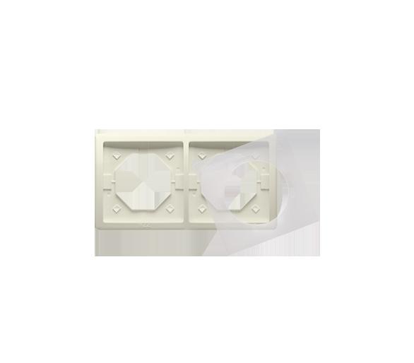 Ramka 2- krotna IP44 beżowy BMR2B/12