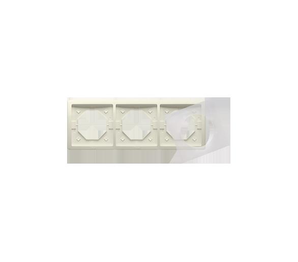 Ramka 3- krotna IP44 beżowy BMR3B/12