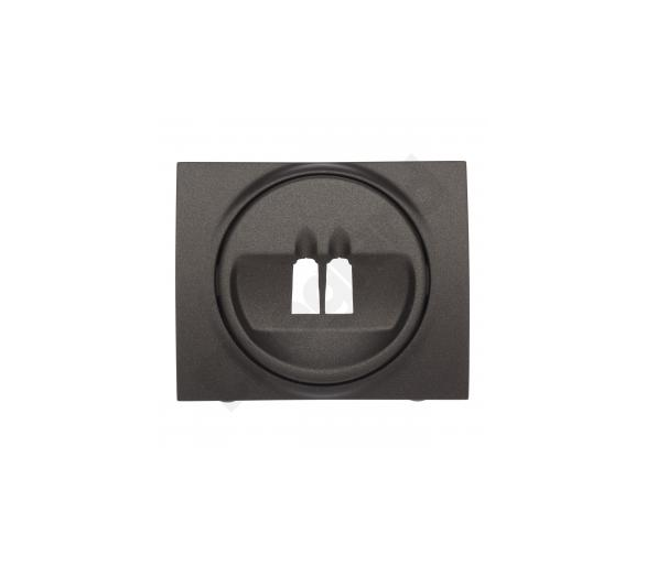 Plakietka do gniazda głośnikowego pojedynczego CHOCO SISTENA LIFE 771200