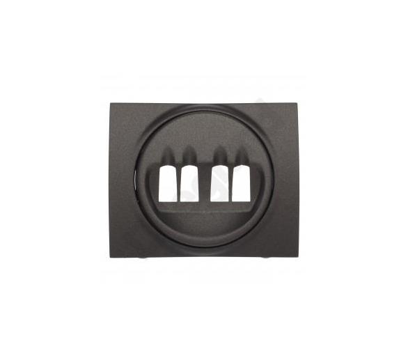 Plakietka do gniazda głośnikowego podwójnego CHOCO SISTENA LIFE 771225