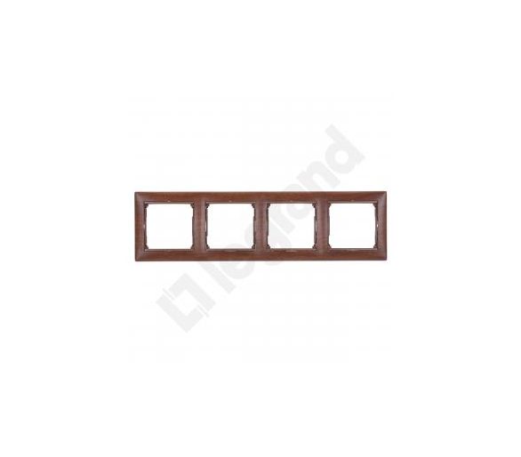 Ramka poczwórna MAHOŃ VALENA 770314