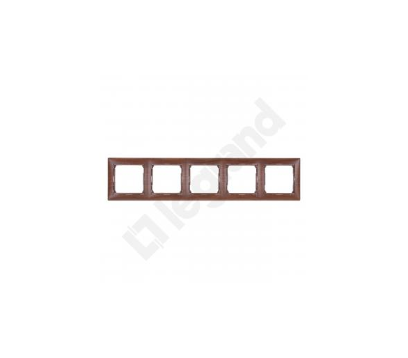 Ramka pięciokrotna MAHOŃ VALENA 770315