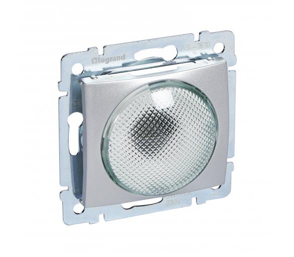 Sygnalizator ALUMINIUM - klosz transparentny VALENA 770224