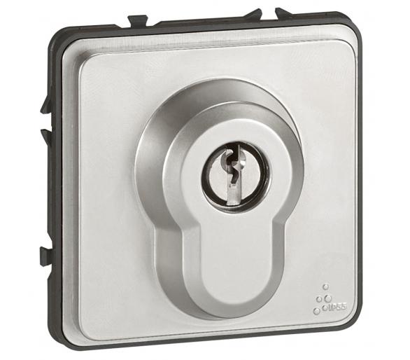 Łacznik przełączany kluczem 3-pozycje NO Soliroc IP55 IK10 077875
