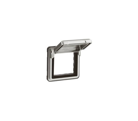 Adapter do osprzętu Mosaic z klapką Soliroc IP55 IK10 077880