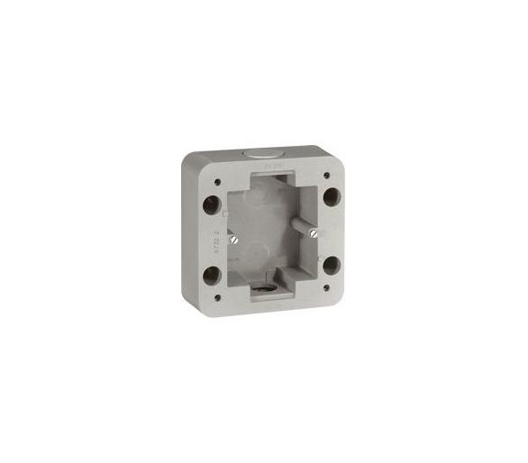 Puszka natynkowa pojedyncza Soliroc IP55 IK10 077890