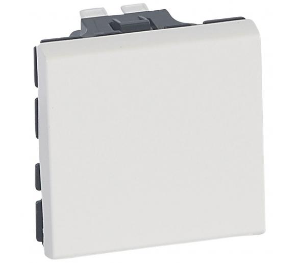 Łącznik schodowy 10 AX - 250 V~ - 2 modułowy - Biały antybakteryjny MOSAIC 078711