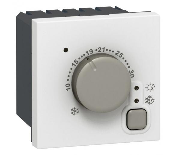 Termostat elektroniczny - Biały MOSAIC 076720