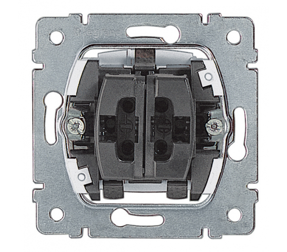 Łącznik schodowy podwójny 10AX-250V~ SISTENA LIFE 775808