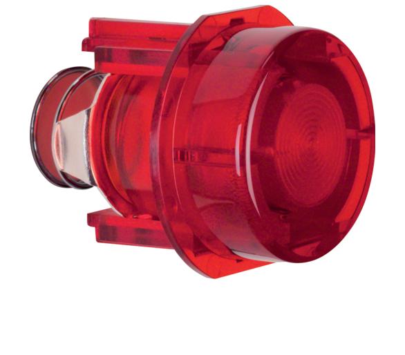 Przycisk do łącznika i sygnalizatora E10, czerwony przezroczysty Berker 1279