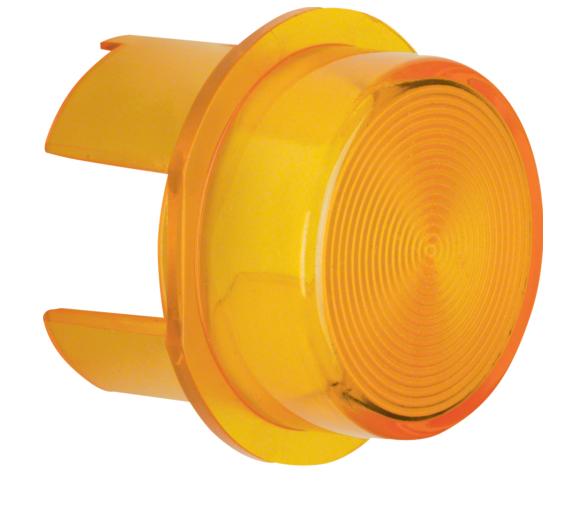 Klosz do sygnalizatora świetlnego E10, żółty przezroczysty Berker 1282
