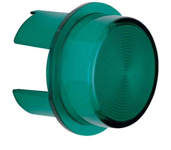 Klosz do sygnalizatora świetlnego E10, zielony przezroczysty Berker 1283