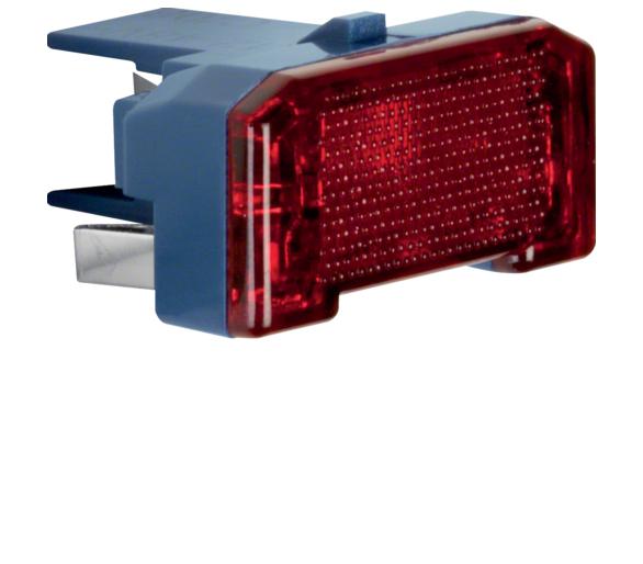 Wkładka jarzeniowa LED, mechanizm, niebieski Berker 1687