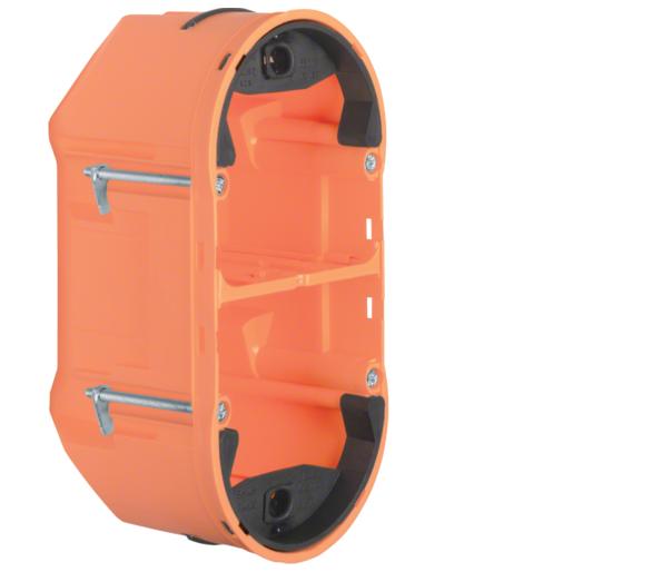 TS Sensor Puszka 2-krotna głęboka, pomarańczowy, mat Berker 1870
