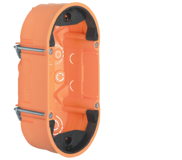 TS Sensor Puszka 2-krotna płytka, pomarańczowy, mat Berker 1871