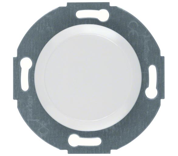 Serie 1930/Glas Zaślepka z płytką czołową, biały Berker 100920