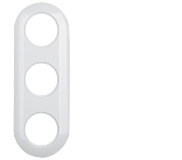 Serie 1930 Ramka 3-krotna, biały Berker 138139