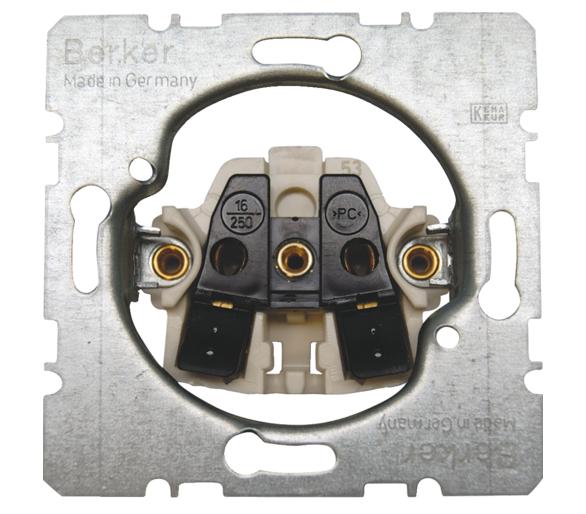 one.platform Mechanizm gniazda bez uziemienia, samozaciski Berker 396161