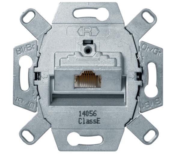one.platform Mechanizm gniazda komp. UAE 1-kr (RJ45), ekranowane, kat.6, klasa E Berker 455401