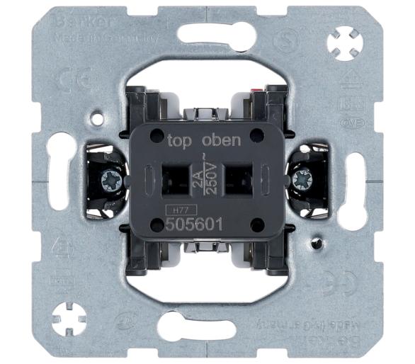 one.platform Łącznik klawiszowy przyciskowy do nasadki na kartę hotelową, 2A Berker 505601