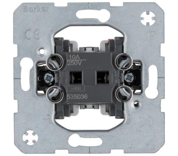 one.platform Łącznik 1-klawiszowy przyciskowy, zestyk zmienny Berker 535036