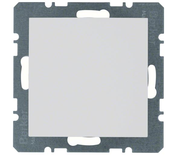 S.1/B.3/B.7 Zaślepka z płytką czołową, bez pazurków rozporowych, biały Berker 10091909