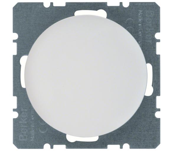 R.1/R.3 Zaślepka z płytką czołową biały, połysk Berker 10092089