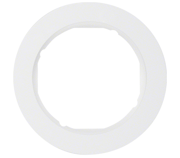R.classic Ramka 1-krotna, biały, połysk Berker 10112089