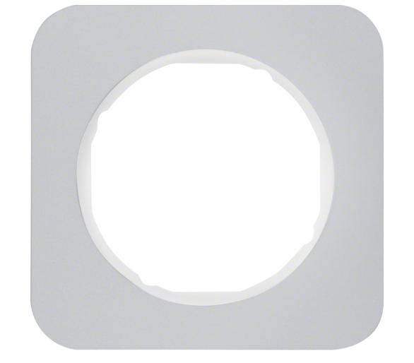R.1 Ramka 1-krotna, alu/biały Berker 10112174